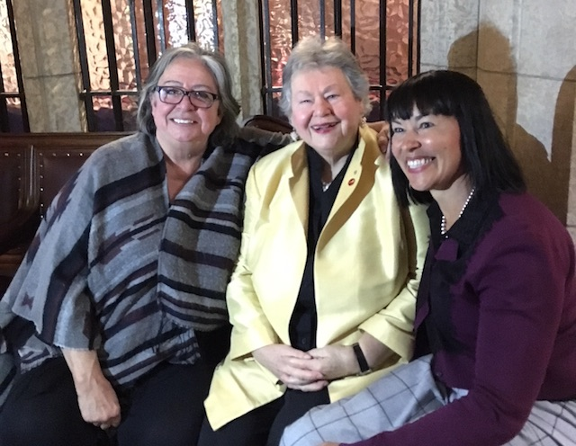 Senator Frances Lankin, Honourable Nancy Ruth, Senator Chantal Petitclerc
